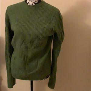 Green Abercrombie sweater